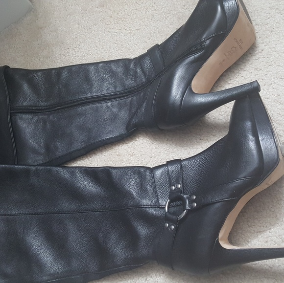 43232c91cecc5 ros hommerson Shoes | Tease Wide Calf Over Knee Boots | Poshmark