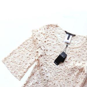 BCBGMAxAzria Tianya Crochet Dress
