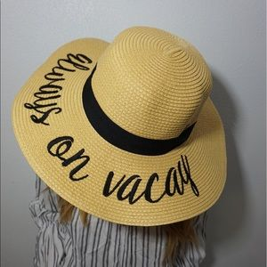 Accessories - Always on vacay floppy hat