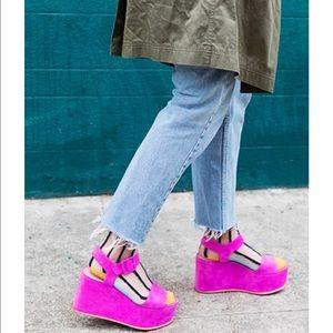 ee60d9ad17c4 Loeffler Randall Shoes - 💕HP💕 Loeffler Randall Alessa Platform Sandals