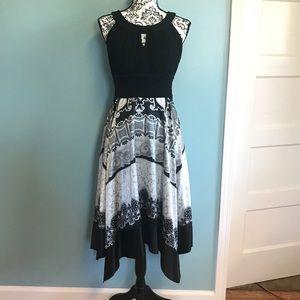 Sangria Dresses & Skirts - Silky Handkerchief Dress