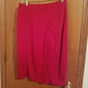 ON SALE!!! Red pencil skirt