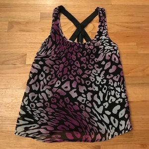 Charlotte Russe Cheetah Tank-Ready for a night out