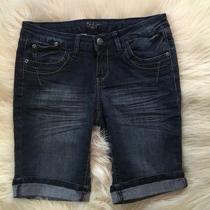 Earl Jeans Pants - Earl Jeans Blue Bermuda Shorts Size 5