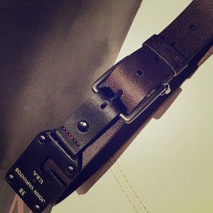 John Varvatos Other - John Varvatos brown leather belt 38