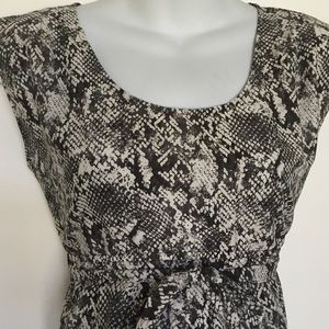 Motherhood Maternity Tops - Motherhood maternity snake print top