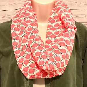 New Coral Pink Summer Eternity Scarf