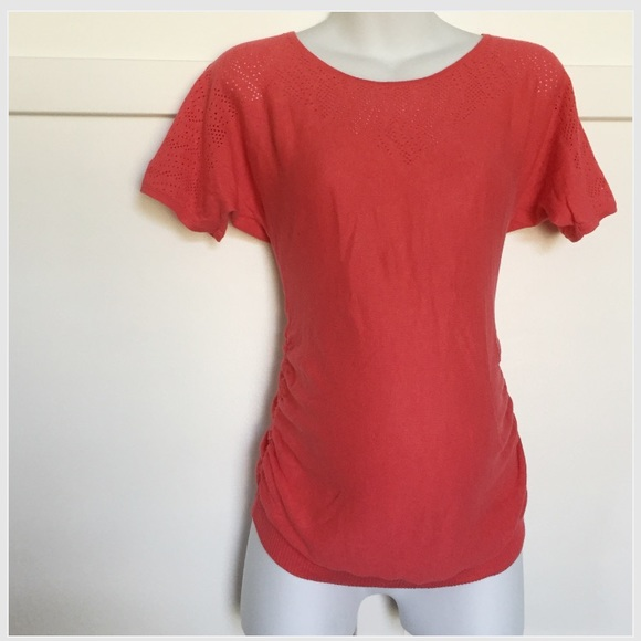 Motherhood Maternity Tops - Motherhood maternity knit top coral size small