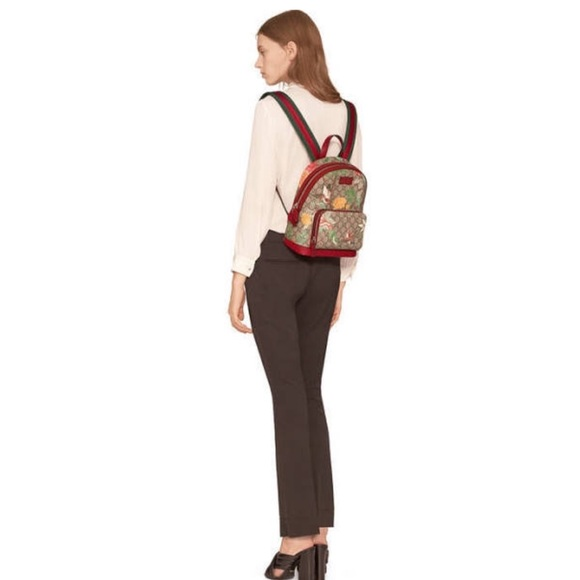 🍒BNWT   trendy Gucci Tian GG Supreme backpack!🍒 3620a19884cdd