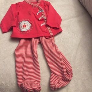 Offspring Other - Kimono top and Footie bottoms 3m