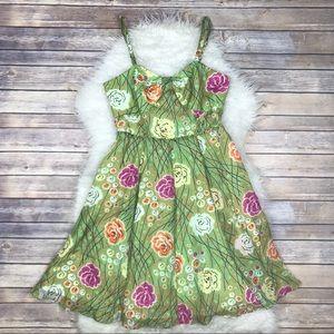 Anthropologie Dresses & Skirts - Anthropologie Girls From Savoy Silk Floral Dress