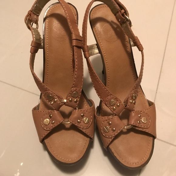 Jessica Simpson Shoes Wooden Heel