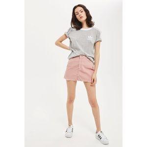 Topshop Dresses & Skirts - Topshop Blush Cord Mini Skirt