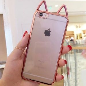 Accessories - Cat Ear iPhone 7/7+ case