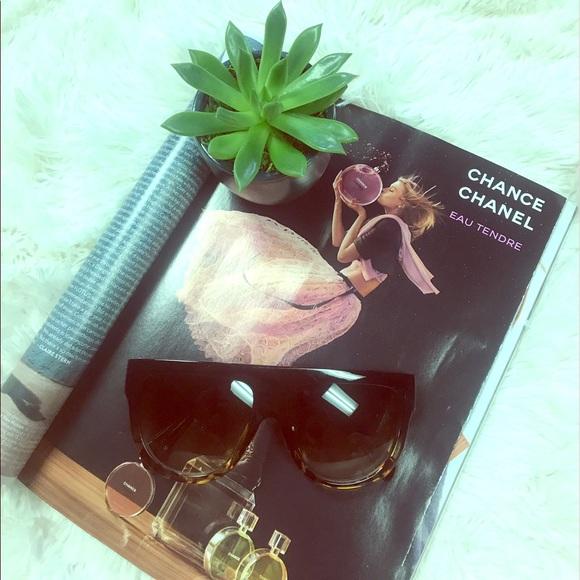 9c081436bf7 Black Havana Tortoise Flat Top Sunglasses