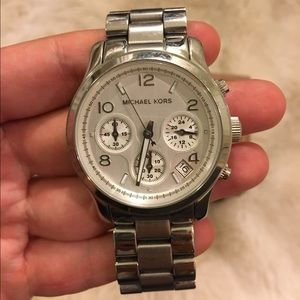 Michael Kors Stainless Steel Silver Watch
