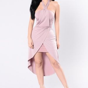 Fashion Nova Dresses & Skirts - Halter open back dress