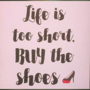 Other - A girl cannot have enough shoes!