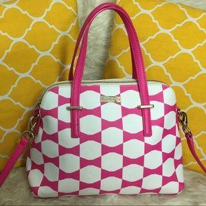 kate spade Handbags - 🌸OFFERS?🌸Kate Spade Al Leather Pink/White Bag