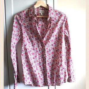 J. Crew Tops - J. Crew Floral Button Down Top