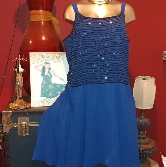 2 piece special occasion plus size dress