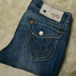 MEK Denim - MEK Bootcut Glastonbury Stretch Jeans Size 27