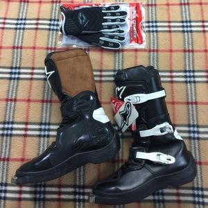 Alpinestars Shoes - Alpinestars Motocross Boots Italian Series