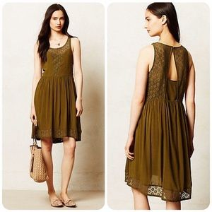 Anthropologie Matepe Dress