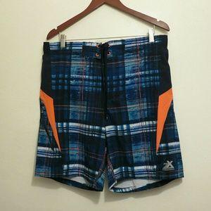 ZeroXposur Other - NWT Men's Swim Trunks Board Shorts Med Lrg