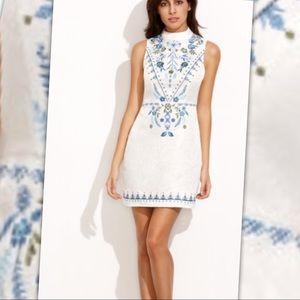 Dresses & Skirts - Embroidered Sleeveless Dress