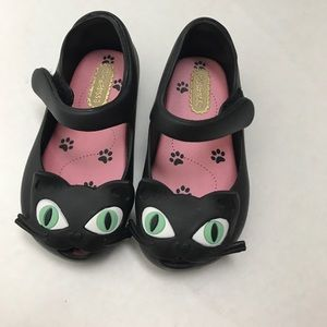 Mini Melissa Other - New Mini Melissa Black Cat Mary Jane Jelly Shoe