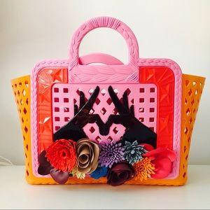 Kartell x Paula Cademartori thermoplastic bag.