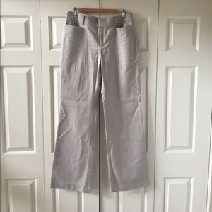 Banana Republic gray trousers12L