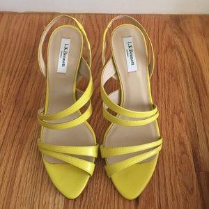 """LK Bennett Shoes - New LK Bennett """"Addie"""" strappy heels! Sz 38 & 40"""