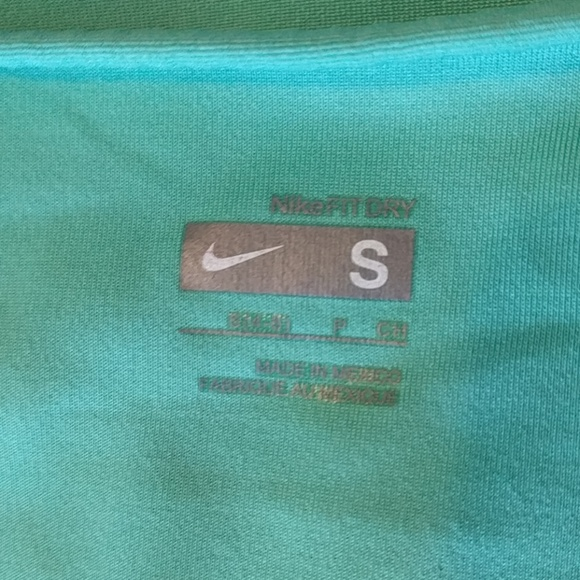 Nike Tops - Teal Nike Muscle Tee 