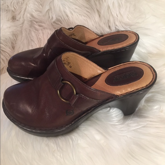 Born  Schuhes  Born  Sassy And Classy Leder Clogs Super Cute   Poshmark d0be87