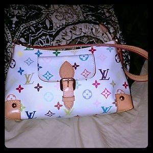 Handbags - Multicolor monogram fashion  bag