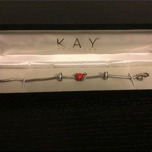 Kay Jewelers Jewelry - 😈❤️Kay Jewelers Charm Bracelet❤️😈