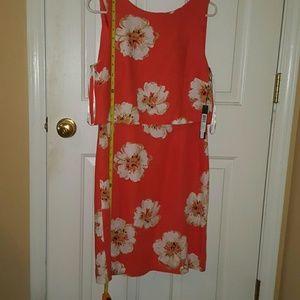 Ivanka Trump Back Zipper, Lined Dress , NWT