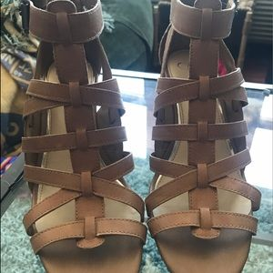 Jessica Simpson Shoes - Jessica Simpson Wedge Sandals, Size 8.5