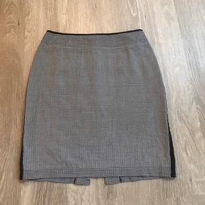 Anne Klein Dresses & Skirts - Anne Klein Silk Pencil Skirt Basketweave Size 8