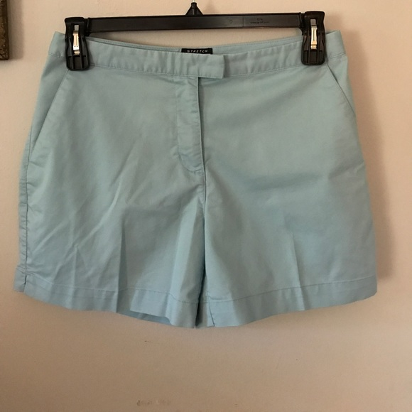 5cc444595 adidas Pants - Ladies Adidas Stretch Shorts Robins Egg Blue Sz 10