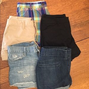 Pants - Lot: multiple pairs, size 6 shorts