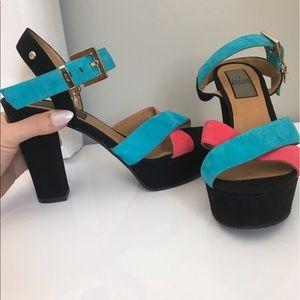 Cesare Paciotti Shoes - Cesare Paciotti 4US Platform & block Heel sz 39