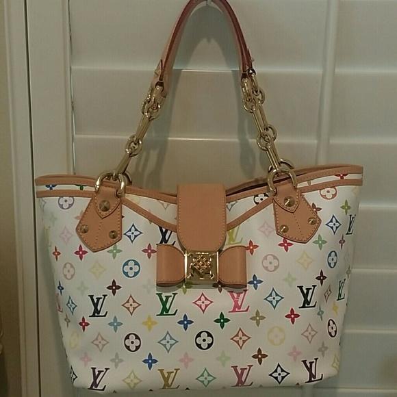 1f6219fd0e Louis Vuitton Bags | Annie Gm Multicolor Limited Edition | Poshmark
