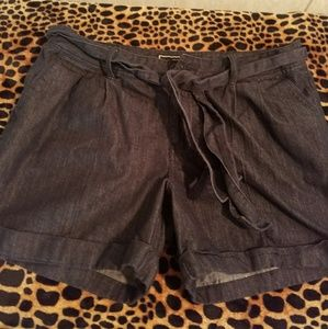 Cato Pants - Dressy Denim shorts Sz 10