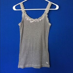 Abercombie Kids Other - Abercrombie kids XL floral lace tank