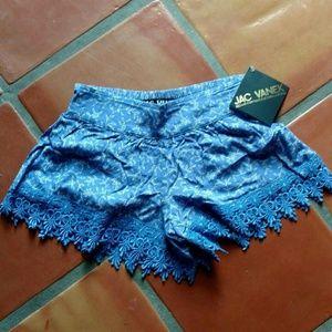 Jac Vanek Pants - NWT Jac Vanek High Waisted Shorts