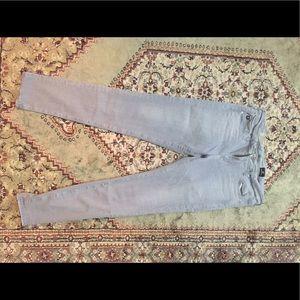 Super skinny Legging ankle AG grey jeans