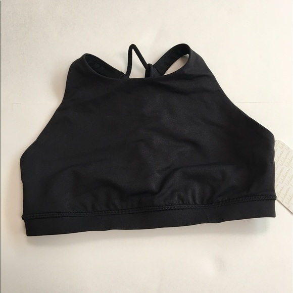 8673de8670 New lululemon trinity bra II sports black 4  54